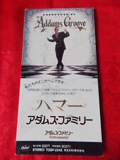 "MC HAMMER Addams Groove / Japanese 3"" mini CD single JAPAN / UK DESPATCH RARE"