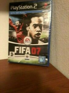 FIFA 07 2007 (PS2 PS3) NEW SEALED PAL Norway Norge versjon forseglet