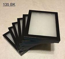 "6-135 Riker Mount Display Case Shadow Box Frame Tray  6"" X 5"" X 3/4"""