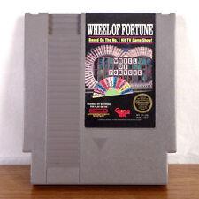 Wheel of Fortune NES Nintendo 1988 Tested