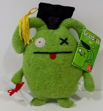 "Little Uglys Graduation ""OX"" Green 7"" UGLYDOLL! A Must Have! RETIRED! Great Gift"