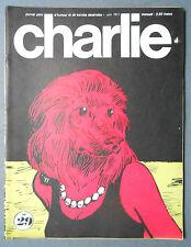 ►MENSUEL CHARLIE 29/1971 -  WOLINSKI - SHULZ/PEANUTS - WILLEM - REISER - BARBE
