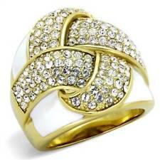 Markenlose Modeschmuck-Ringe mit Kristall
