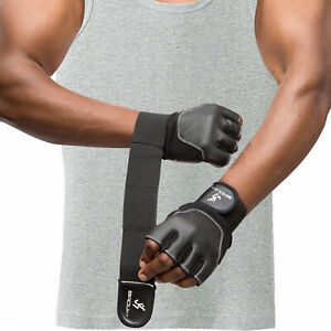 Badufit Weight Lifting Gloves Bodybuilding Fitness Workout Training Wrist Strap