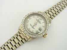Rolex Datejust Lady Ref 6917 750er Weißgold Diamanten 18 kt white gold diamonds