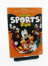 DISNEY CLASSIC CARTOON FAVORITES EXTREME SPORTS FUN VOLUME 5 DVD RARE OOP