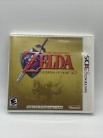 The Legend of Zelda: Ocarina of Time 3D (3DS, 2011) Complete in box CIB