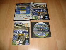 FOOTBALL MANAGER TEMPORADA 2010 DE SEGA PARA PC USADO COMPLETO