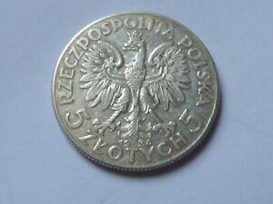 Pologne. 5 zlotych 1934.
