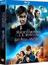 HARRY POTTER 8 FILM + ANIMALI FANTASTICI (9 BLU-RAY) BOX EDIZIONE SPECIALE