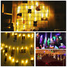 6M 40LED USB Photo Clip LED Light Strip Christmas Festival Clip Decorative Lamp