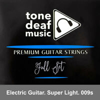 ELECTRIC GUITAR STRINGS Super Light gauges 009 - 042 nickel wound string