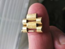Rolex ♛ Mens President Day/Date (BARK BRACELET) 18k Solid Gold Genuine Links