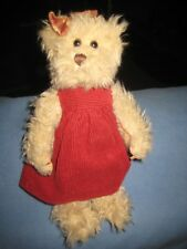 The Bearington Collection - Teddy Bear lady with corduroy dress