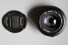 Minolta MD 50mm f/2 objectif