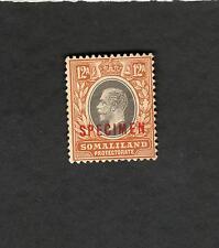Somaliland  SCOTT #72 Specimen Overprint  MH stamp