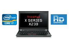 "Lenovo X230 12.5"" IPS i7-3520M Up to 3.60GHz 128GB SSD 8GB RAM WIN10PRO"