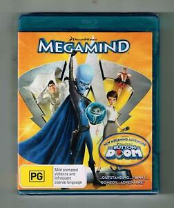 Megamind Blu-ray - Brand New & Sealed