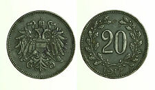 pcc1247_4)  Österreich, Kaiser Karl I. 1916-1918, 20 Heller 1917 FERRO