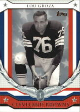 2008 Topps NFL Honor Roll Lou Groza Cleveland Browns HR-LG