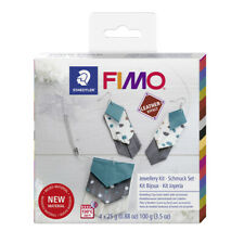 Original FIMO® Leather Effect Modelling Clay (oven-bake) Jewellery Kit
