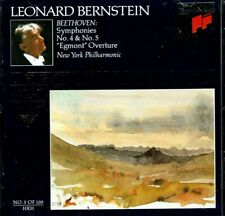 Leonard Bernstein Beethoven Symphonies No 4 & 5  (Austria) BRAND  NEW SEALED CD