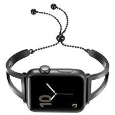 For Apple Watch Bracelet Band iWatch 38mm Pendant Tassel Metal Bangle Strap New