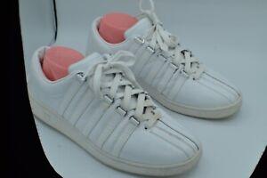 K-SWISS Sz 12 Men Shoes Classic Luxury Edition White Sneakers