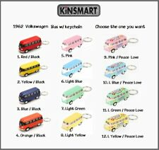 Kinsmart 1962 Volkswagen Bus keychains 1:64 scale / 2.5 inches  - your choice