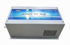 6000W LF Split Phase 24V DC/110V,220V AC 60Hz Pure Sine Wave Power Inverter