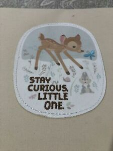 Hallmark Disney Baby Record book Bambi Thumper Stay Curious Little One