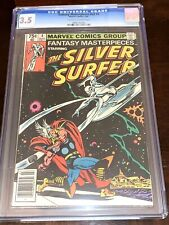 FANTASY MASTERPIECE #4 CGC 3.5 REPRINTS SILVER SURFER CLASSIC THOR COVER