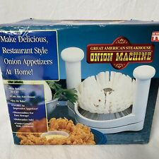 Great American Steakhouse Blooming Onion Machine As Seen On TV