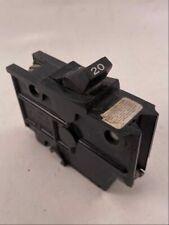 Federal Pacific Stab Lok Circuit Breaker Nb120 1 Pole 20 Amp Used