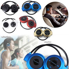 Sport Running Wireless Bluetooth Headset Headphone Stereo Earphone For iphone7