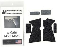Tractiongrips rubber grip tape overlay for Kahr MK9, MK40 pistols / grips