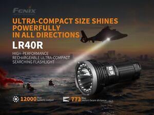 Fenix LR40R 12,000 Lumens 773 meter Type-C USB Recharge Flashlight Power Bank
