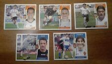 LOTE CROMOS VALENCIA C.F. Y REAL ZARAGOZA TEMPORADA 2006 - 2007