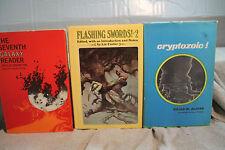 lot vtg old Sci-Fi CRYPTOZOIC THE SEVENTH GALAXY READER FLASHING SWORDS #2