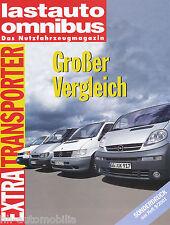 Sonderdruck Lastauto Omnibus 9 01 VW T4 Ford FT 280 Opel Vivaro Vito 110 2001
