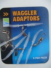 PRESTON INNOVATIONS - WAGGLER ADAPTORS - COARSE FISHING - 5 PER PACK