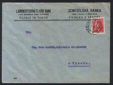 Böhmen und Mähren Bedarfsbrief mit EF Michel Nr. 94