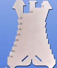 Anreißgerät für Spengler Blech-Anreißer Stubai 278601 Anreißschablone 140 mm