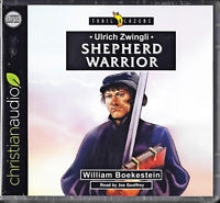 NEW Ulrich Zwingli Shepherd Warrior Trailblazers Audio CD Christian Hero Focus