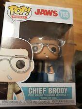 Funko Pop. Pop Movies Jaws Chief Brody #755 UK Seller