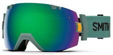New listing Smith I/O X Ranger Scout Green Sol-X Mirror Ski - Snowboard Goggles Il7Nxscr17