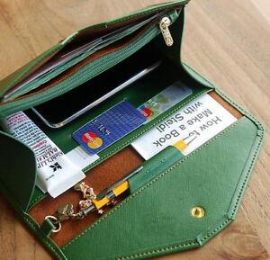 Women Ladies Clutch Wallet Leather Long Handbag Card Holder Purse Envelope Bag