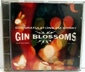 Gin Blossoms Congratulations Sorry Album Compact Disc Original CD 1996 ~ryokan