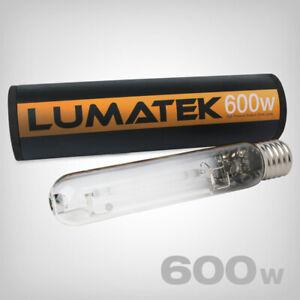Lumatek 600 Watt NDL Natriumdampflampe Pflanzenlampe Blüte Leuchtmittel 600 W