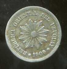 URUGUAY  2 centesimos  1909